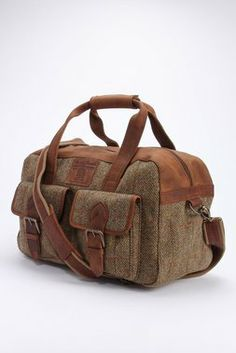 Harris Tweed Holdall - The British Belt Company - Bags : Thrillist
