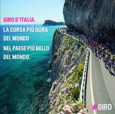 La Liguria è stata scelta per il manifesto del Giro d'Italia.