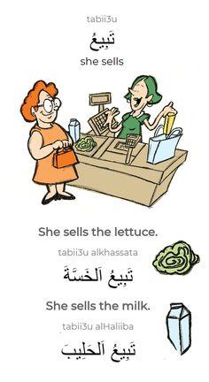 Buy – an Arabic word English Learning Spoken, Learn English Words, English Phrases, English Language Learning, Learn A New Language, English Writing, Arabic Verbs, Write Arabic, Arabic Sentences