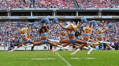 Head to RantSports.com to see the Full Roster for this year's Tennessee Titans Cheerleaders!