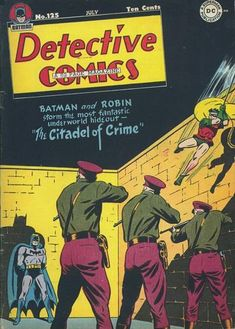 Batman goes undercover (not necessarily as Matches Malone) and discovers an underworld militia!