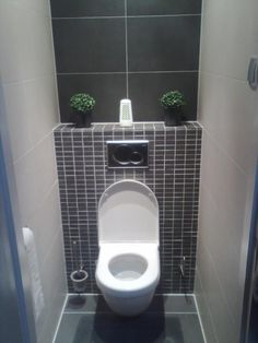 1000 images about d co toilettes on pinterest deco decoration and greys a - Wc c olour grijze ...