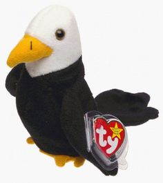 TY Beanie Baby - BALDY the Bald Eagle by Ty, http://www.amazon.com/dp/B00001P4X1/ref=cm_sw_r_pi_dp_iln0rb0VSCRPS