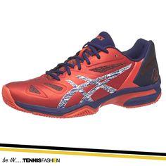 Asics Gel Lima Padel Red/White Men's Shoes #tennisshoes #shoes #tennis #tennisfashion #fashion #tennisgear #asics