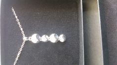 vnc0049 ketting met crystal steen