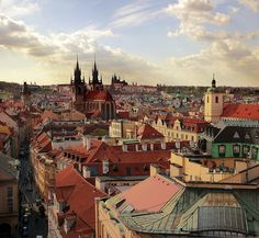 Prague (Czech Republic). 'Prague's big attractions – Prague Castle and Old Town Square are highlights of the Czech capital