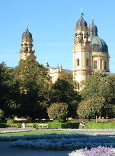 visit google amazing munich. Munich Is Not Italy, But We Do Also Have Some Nice Churches, Which Are Worth Visiting. Like The Mustard-yellow Theatinerkirche In City Center. Google Visit Amazing +