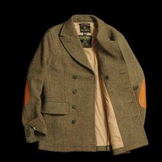 Grey Fox: Nigel Cabourn DB tweed jacket - rare classic quality?