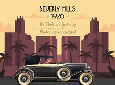Interactive Maps – Articulate Challenge #314   Instructional Design by Tracy Carroll 1920s Looks, Instructional Design, Interactive Map, Beverly Hills, Maps, Challenges, Hero, Adventure, Learning