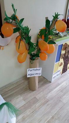 Balondan portakal ağacı
