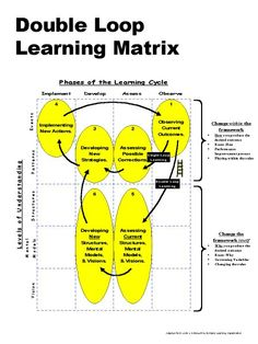 Another version of the double loop learning model.