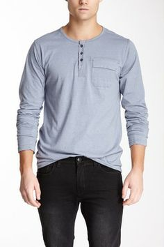 Indigo Star Chin Chin Long Sleeve Henley