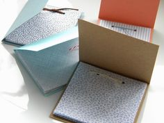 homework: creative inspiration for home and life: Inkling: scratch paper booklets