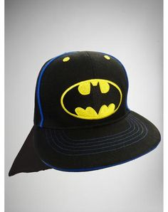 Infant Batman Caped Flatbill Hat