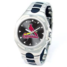 St. Louis Cardinals Victory Series Watch from Game Time: Features:Officially licensed MLB's St. Louis… #Sport #Football #Rugby #IceHockey