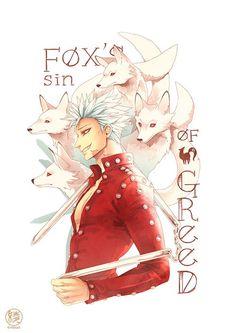 Fox Sin of Greed_Ban_Nanatsu no Taizai:
