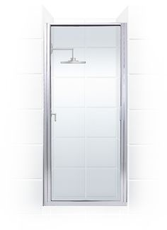 Coastal Shower Doors Paragon Series 26 in. Framed Continuous Hinge Shower Door in Chrome with Clear Glass at The Home Depot - Tablet  sc 1 st  Pinterest & Found it at Wayfair - Paragon Illusion 58.25\