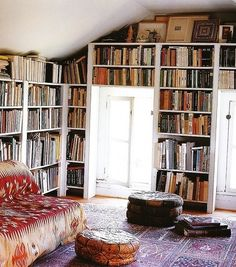 home library ... simple but sweet