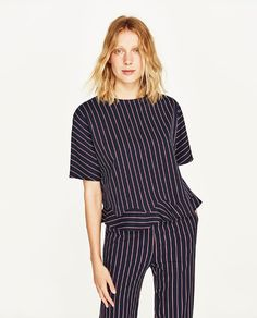 Image 2 of STRIPED TOP from Zara