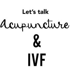 Have you done it? Was it successful? When did you have it in correlation to your IVF? Give us all your thoughts! #ivf #acupuncture #ttc #infertilityjourney