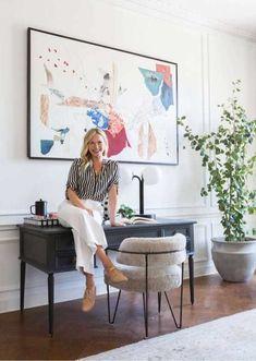 Modern Victorian Style: Furniture + Our Favorites Roundup - Emily Henderson Best Office, Home Office, Small Office, E Design, Design Trends, Foyer Design, Graphic Design, Estilo California, Estilo Art Deco