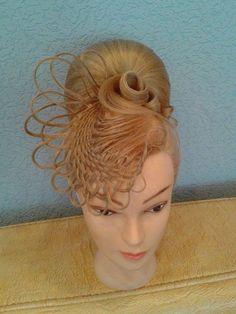 Hairstyles by Olga Ivanitsa Romantic Hairstyles, Dance Hairstyles, Work Hairstyles, Creative Hairstyles, Wedding Hairstyles, Burlesque Hair, Long Hair Designs, Competition Hair, Wacky Hair