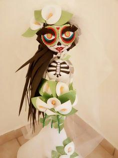 Hermosa Catrina novia