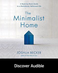 The Minimalist Home Discover Audible with a free audiobook on us. Moving House Tips, Diy Home Decor, Room Decor, Keyword Planner, Bunk Bed Designs, Audio Room, Craft Room Storage, Buying A New Home, Scandinavian Home