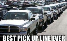 Best pickup line. @Kayelene Free, thought you would enjoy this.