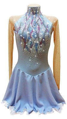 competition-figure-ice-skating-dress-baton-twirling-costume