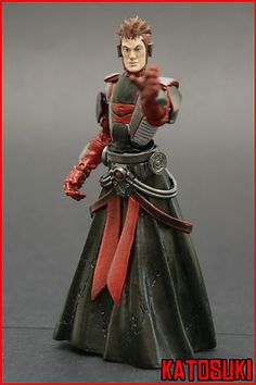 Custom Marvel Legends - Star Wars Old Republic - Sith Inquisitor - 6 in.