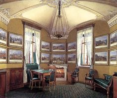 Гатчинский дворец. Военный кабинет