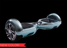 Hoverboards for Sale! Our Chrome plated Hoverboard is a two wheeled smart balance board that uses advanced gyroscopic technology. Buy a Hoverboard today! Back To The Furture, 2 Wheel Scooter, Scooter Scooter, Micro Scooter, Balance Board, Motor Scooters, Blue Plates, Electric Scooter, Best Christmas Gifts