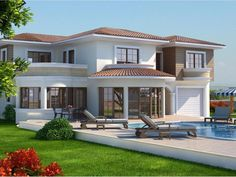 New home designs latest. House Outside Design, House Front Design, Luxury Homes Dream Houses, Luxury House Plans, House Construction Plan, Beautiful House Plans, Architectural House Plans, House Layout Plans, Kerala House Design