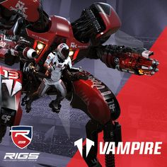 Free: Rigs Mechanized Combat League Vampire Dynamic Theme #Playstation4 #PS4 #Sony #videogames #playstation #gamer #games #gaming