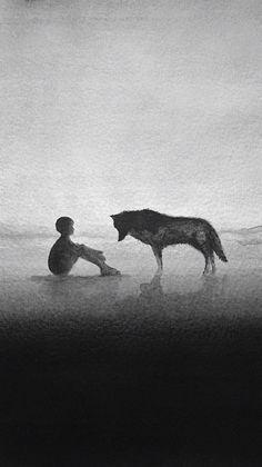 WEREWOLF Kids Boys T-Shirt Mond The Werwolf Horror Das Howling Wolves Wolf