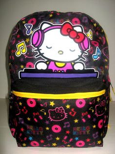 Hello Kitty school backpack large 16