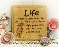 TIGGER Life is About How Well You Bounce by CreatedConcoctions