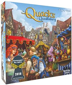 Amazon.com: North Star Games The Quacks of Quedlinburg: Toys & Games Schmidt, Family Boards, Family Board Games, Small World Board Game, Press Your Luck, Skee Ball, Building A Pool, Doctor In, Pool Decks