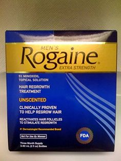 Rogaine Topical Solution Hair Regrowth Extra Strength Mens  6 Months Supply Shipping Fast -- Read more reviews of the product by visiting the link on the image.(This is an Amazon affiliate link and I receive a commission for the sales)