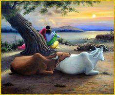Hare Krishna ॐ Hare Krishna, Krishna Lila, Jai Shree Krishna, Lord Krishna Images, Radha Krishna Pictures, Radha Krishna Photo, Krishna Art, Photos Hd, Krishna Painting