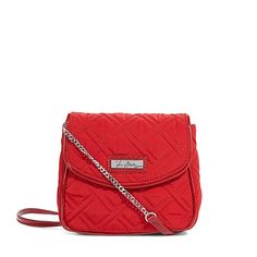 6525036ebcb NWT Vera Bradley chain strap crossbody NWT in preppy poppy color Patent-and- chain strap Magnetic flap Inside
