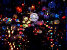 Turkish lights  Photo by: Acrossthelines