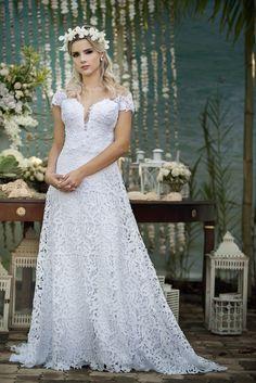 Inspirados Em elementos Da Natureza, As Novas Leituras Do Vestido De Noiva São Perfeitas Para Destination Weddings E Casamentos Ao Ar Livre. Veja!