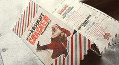 Revolution Christmas 2013, branding, menu design, poster design and social media.