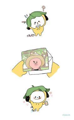 Chibi 157 45 Inspirational the Jikook Appreciation Book 157 Jikook, Super Junior, Monsta X, Wattpad, Mini Comic, Bts Drawings, Bts Chibi, Bts Fans, Kpop Fanart
