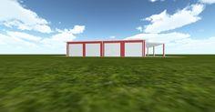 Cool 3D #marketing http://ift.tt/2ljkKFF #barn #workshop #greenhouse #garage #roofing #DIY
