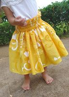 Feel free to link to it, but please do not distribute or make it for profit. Materials 2 yards of wide fa. Skirt Patterns Sewing, Sewing Patterns For Kids, Sewing Projects For Kids, Pdf Patterns, Sewing Ideas, Quilt Patterns, Moana Outfits, Dance Outfits, Hawaiian Skirt