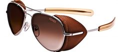 #Eyeglass Side Shields Hot, Hot, Hot, and now we have a limited edition Leather side shield sunglass from Fendi