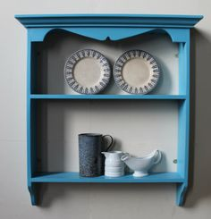 Shabby chic French bookcase solid pine by GoodwoodOriginals